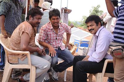 Kandireega Movie Working Stills, Ram Hansika Kandireega Movie On Location Photos leaked images