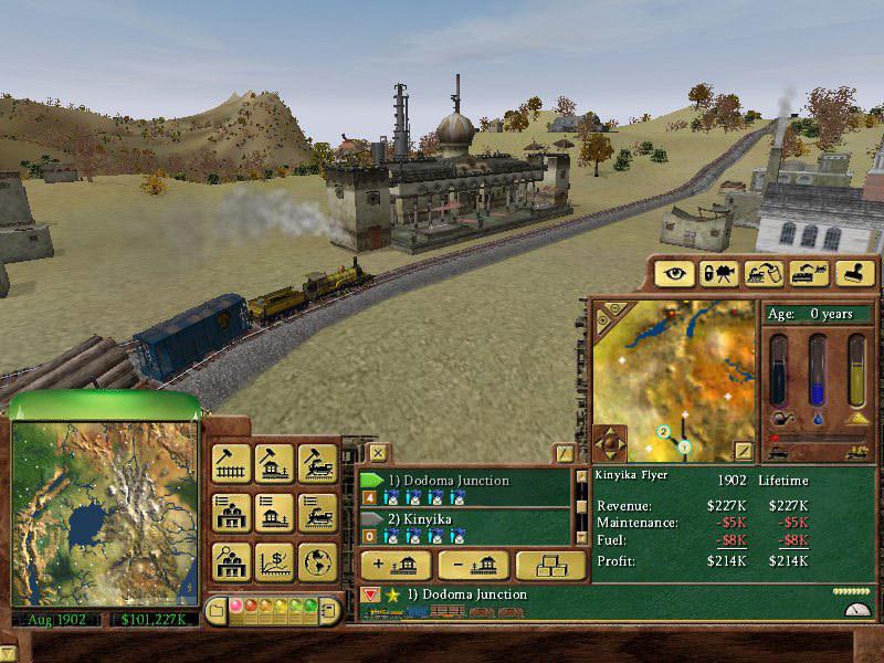 Железнодорожный Магнат 2 Торрент