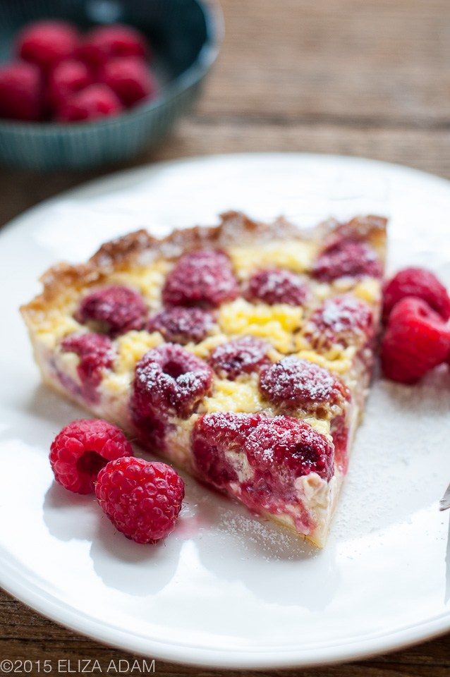 Notes from My Food Diary: Raspberry Cream Cheese Tart