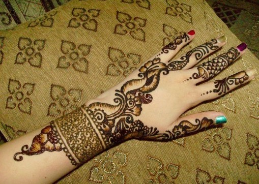 A To Z Mehndi Designs : Arabic mehndi design for hand 2013 14 ~ all info a to z