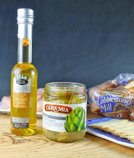 STAR Olive Oil & Cara Mia Artichoke Hearts