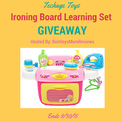 Enter the Toys Ironing Board Learning Giveaway. Ends 9/30