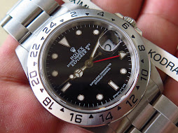 ROLEX EXPLORER II BLACK DIAL 40mm - ROLEX 16570 SERIE T YEAR 1996 - AUTOMATIC CAL 3185 - MINTS COND