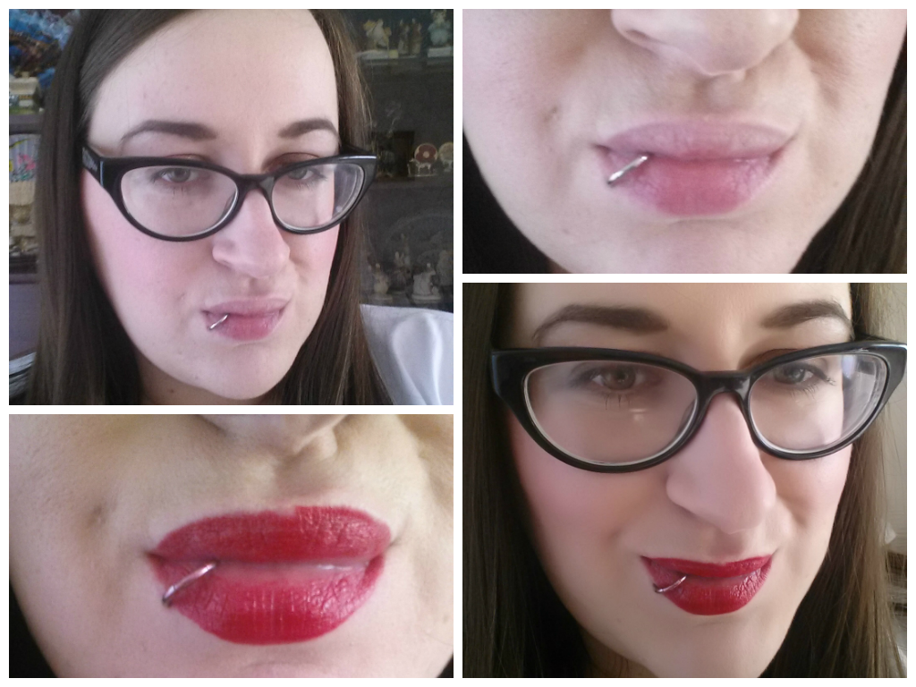 MAC Rocky Horror show lipstick in Oblivion
