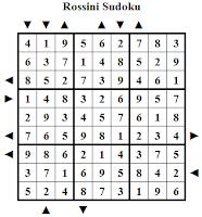 Rossini Sudoku Puzzles