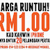 promosi harga runtuh! kad kahwin kreatif versi iphone