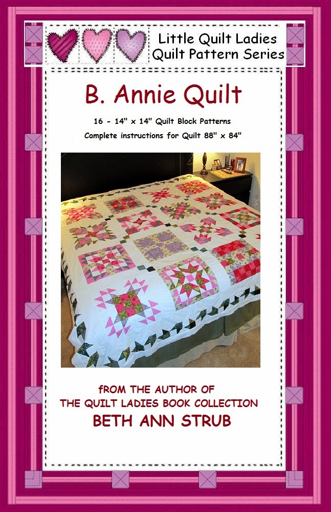 quilt pattern eBook, B Annie by The Quilt Ladies