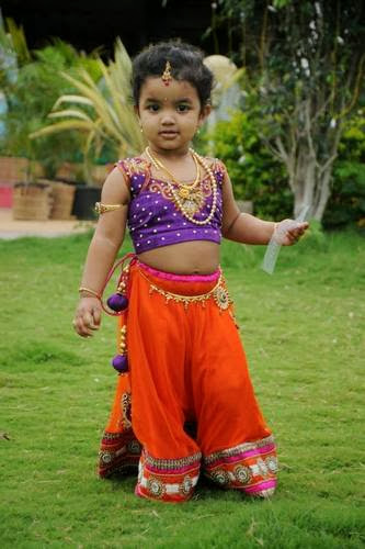 Kid in Fascinate Lehenga
