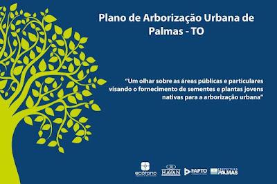 Plano de arborização urbana de Palmas.