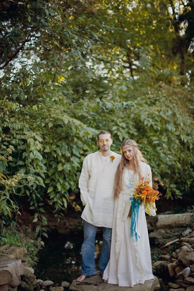 una boda hippie hippy  boda original blog mi boda gratis