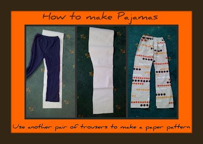 pajama pants tutorial