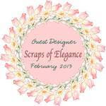Scraps of Elegance Guest Designer
