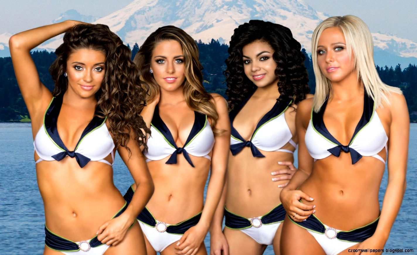 Seattle Seahawks Cheerleaders Swimsuit