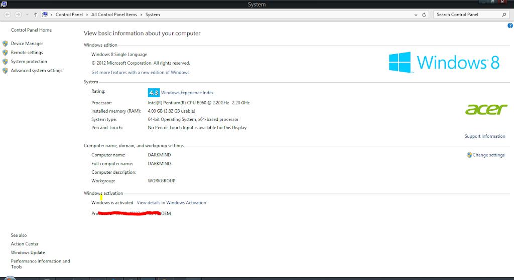 free windows 8 activation key