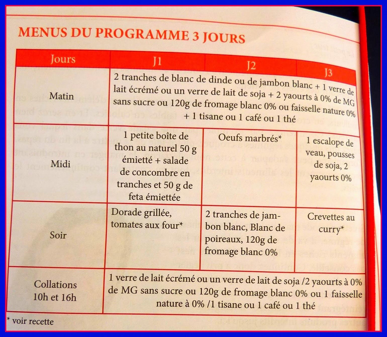 """Très Au.Dié(t).Psy."""": (2) Perdre """"3 kilos en 3 jours """" : l'heure du  EL73"""