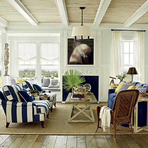 Driftwood interiors 2011 coastal living ultimate beach house - Beach design living rooms ...