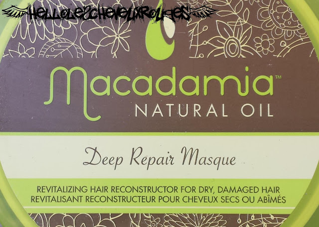Logo du pot de Macadamia Oil Deep Repair Masque