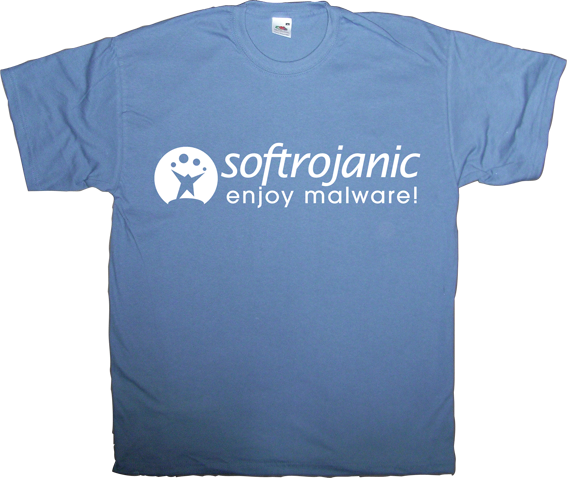 softonic malware internet t-shirt ephemeral-t-shirts