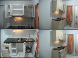 Kitchen set  Nias Apartemen