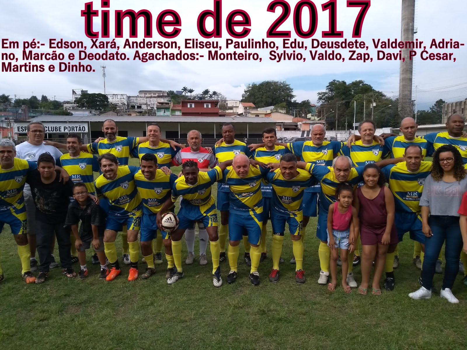 time de 2017