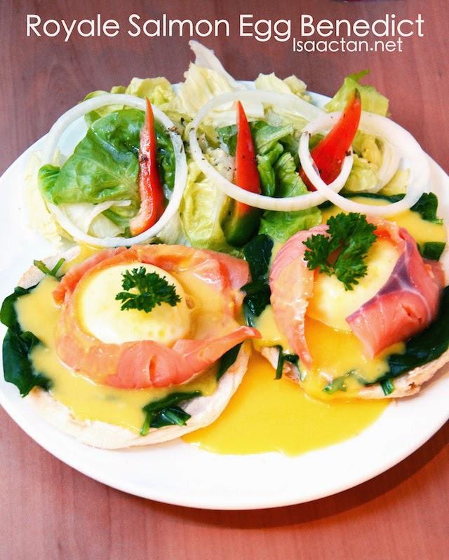 Royale Salmon Egg Benedict - RM22.90