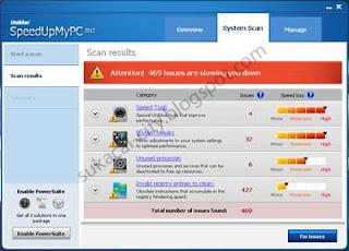 Uniblue SpeedUpMyPC 2012 versi 5.2.1.7 - sukacai-city.blogspot.com