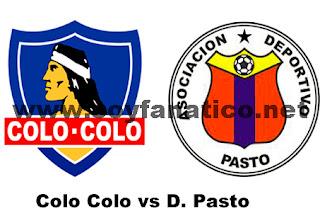 Colo Colo Deportivo Pasto Copa Sudamericana 2013