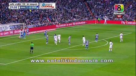 Siaran tv Real Madrid vs Villarreal