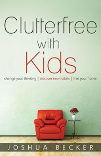 Book cover: Clutterfree with Kids
