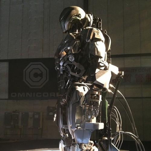 Iron man in Robocop Remake - Drone EM-208
