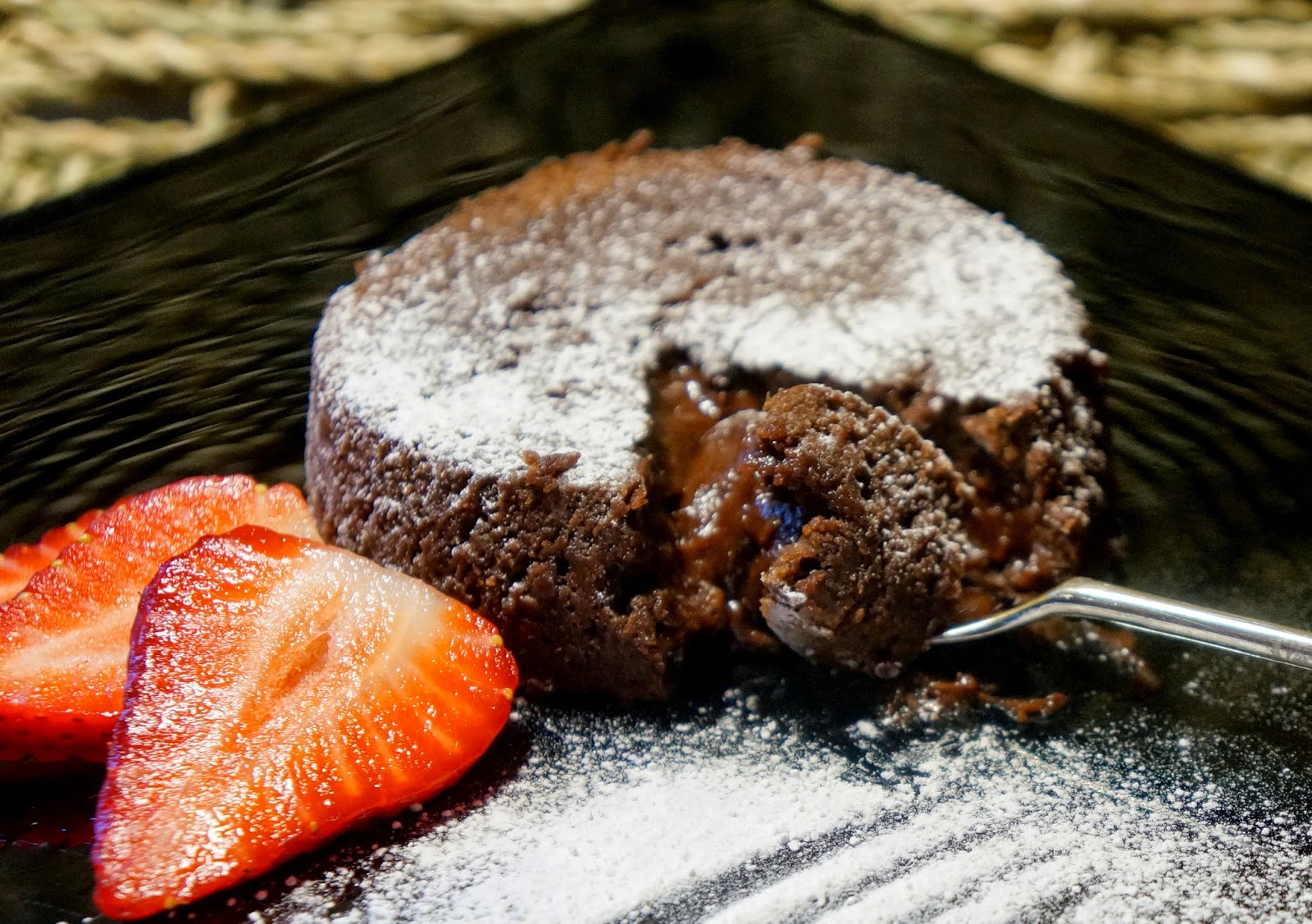 Desert Island Puddings #3: Fairtrade Chocolate Lava Cake (melt in ...