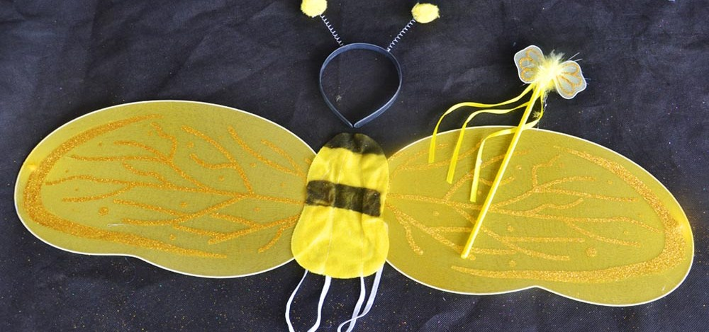 Angel White WingsDevil Black WingsBee Yellow WingsLadybug red Wings & QT Buy Animal Costumes for Kids / Toddler / Babies and Adult in ...
