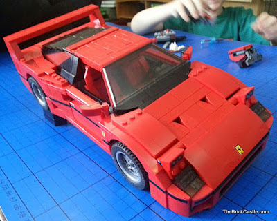 the brick castle lego creator expert ferrari f40 set 10248 review. Black Bedroom Furniture Sets. Home Design Ideas