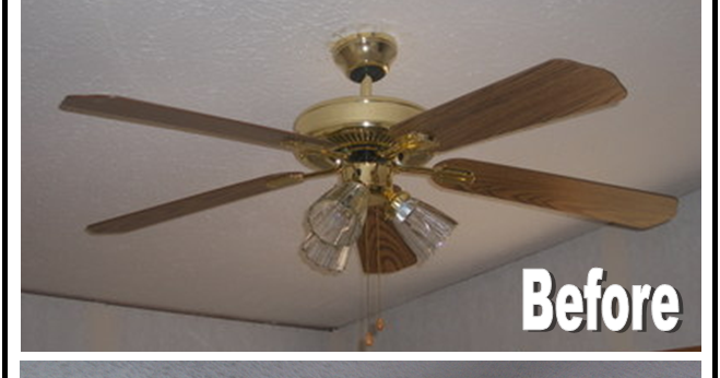 Nadia S Diy Projects Diy Ceiling Fan Makeover