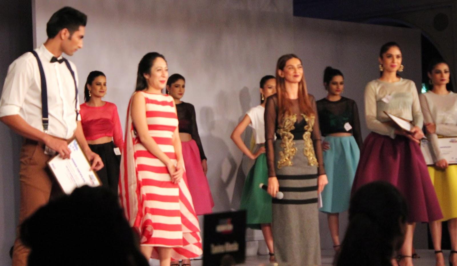 Nandini Bhalla and Shibani Dandekar- MAX Fashion Icon 2014 In Collaboration  With Cosmopolitan Magazine Grand Finale - All Pictures, Uncut Version