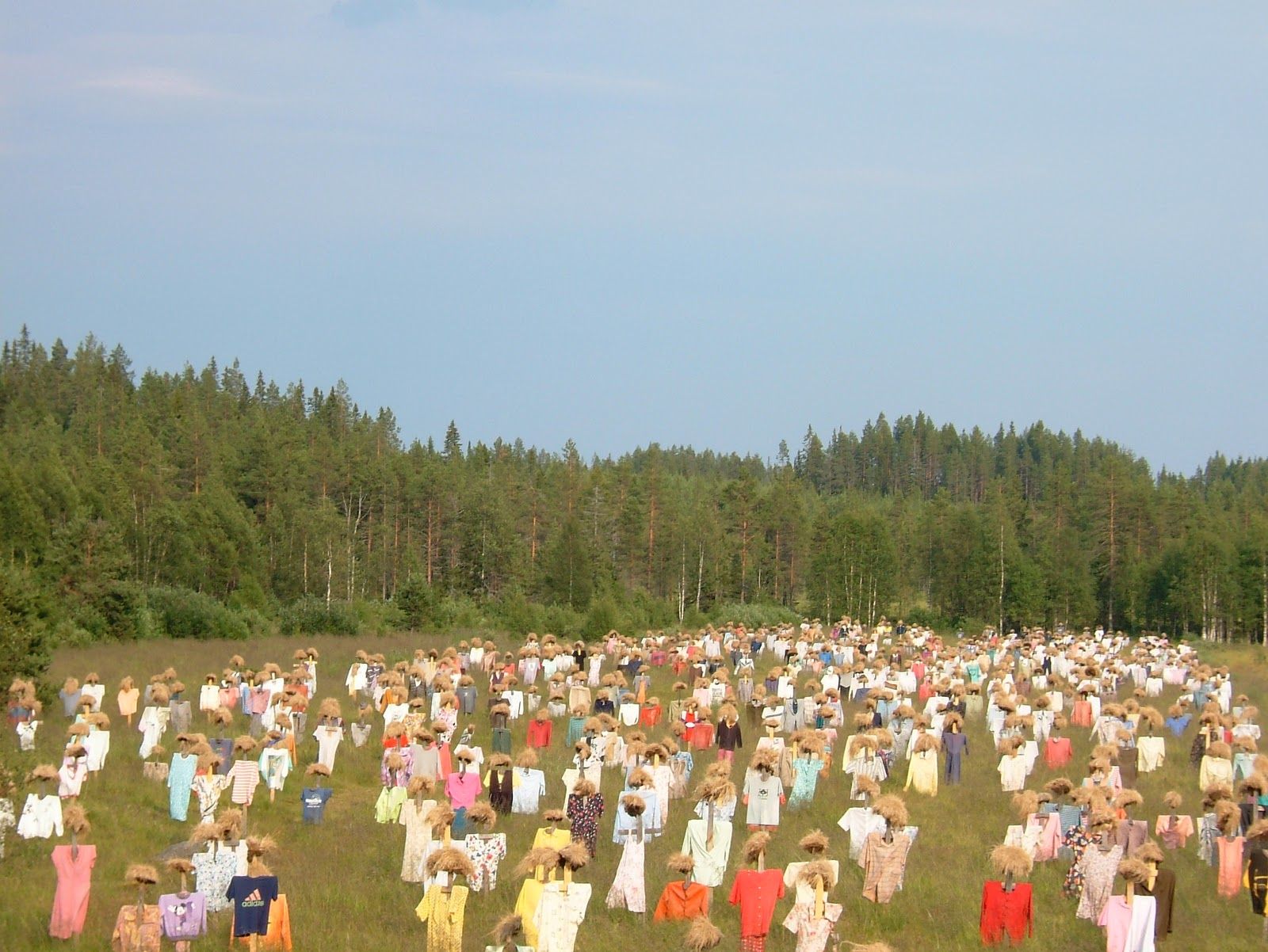 Putnubiedēkļi ar velēngalvām. Somija 2009.