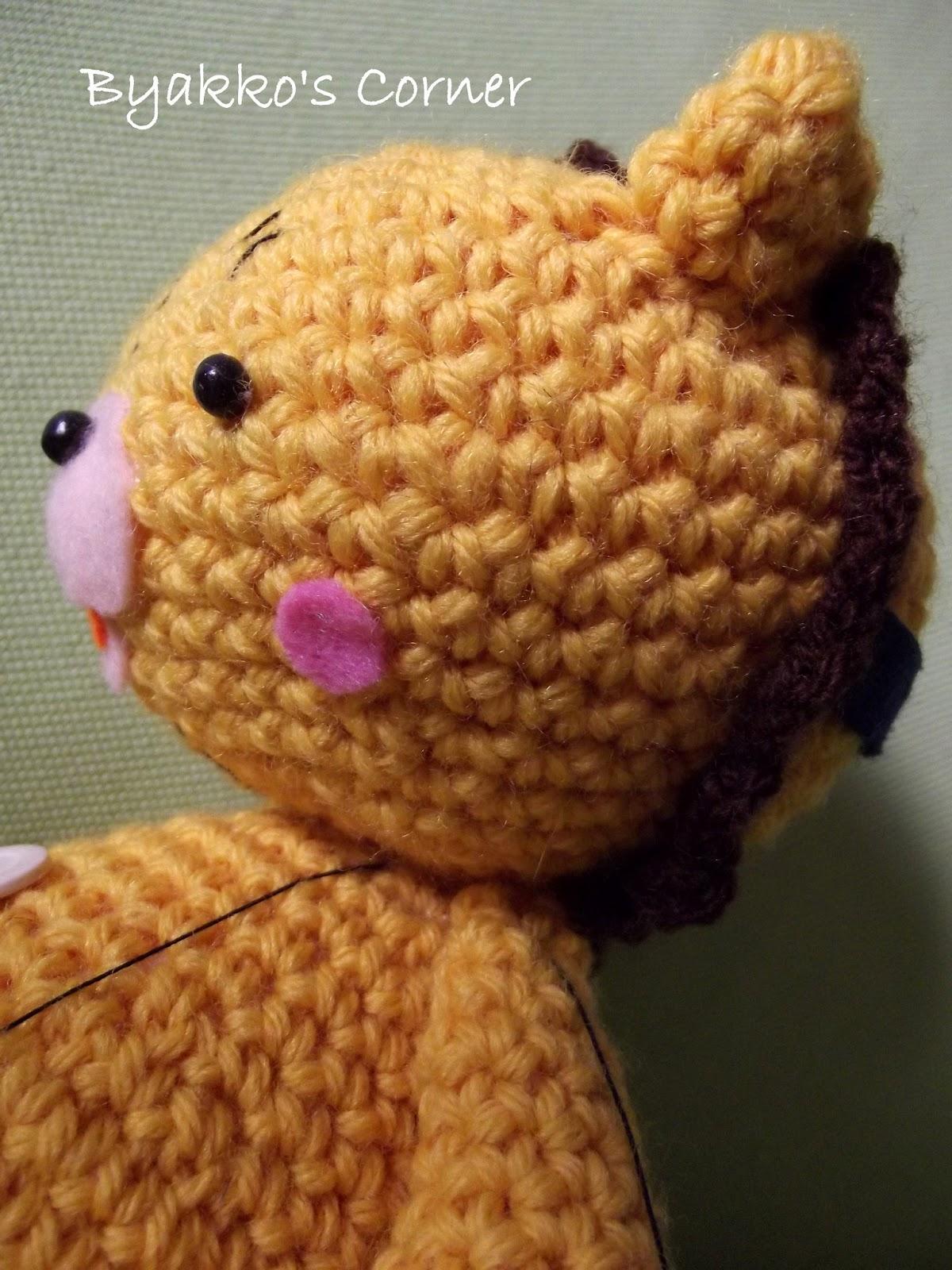 Amigurumi Reindeer Pattern Free : Sui Sentieri Del Vento: Kon amigurumi-big version!!