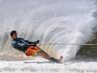 Detrick Working To Be The Best In Waterskiing