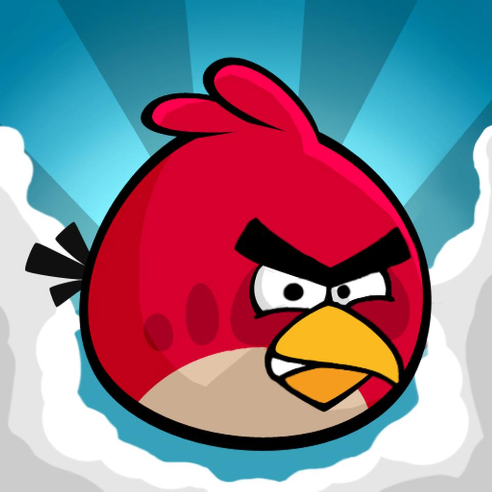 angry birds one of the most popular ios game you will ever see at