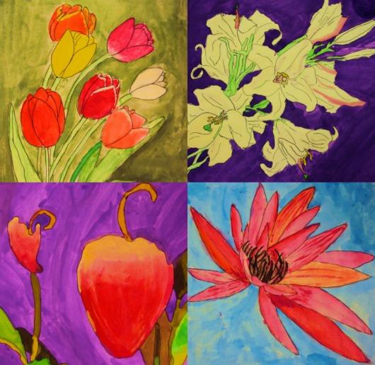 Flors, flores, Georgia O'keeffe