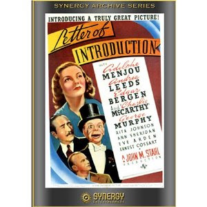 Letter of Introduction 1938 Hollywood Movie Watch Online
