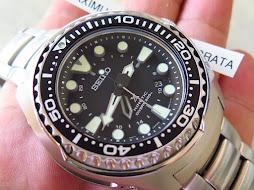 SEIKO PROSPEX KINETIC GMT DIVER 200m - SEIKO SUN019