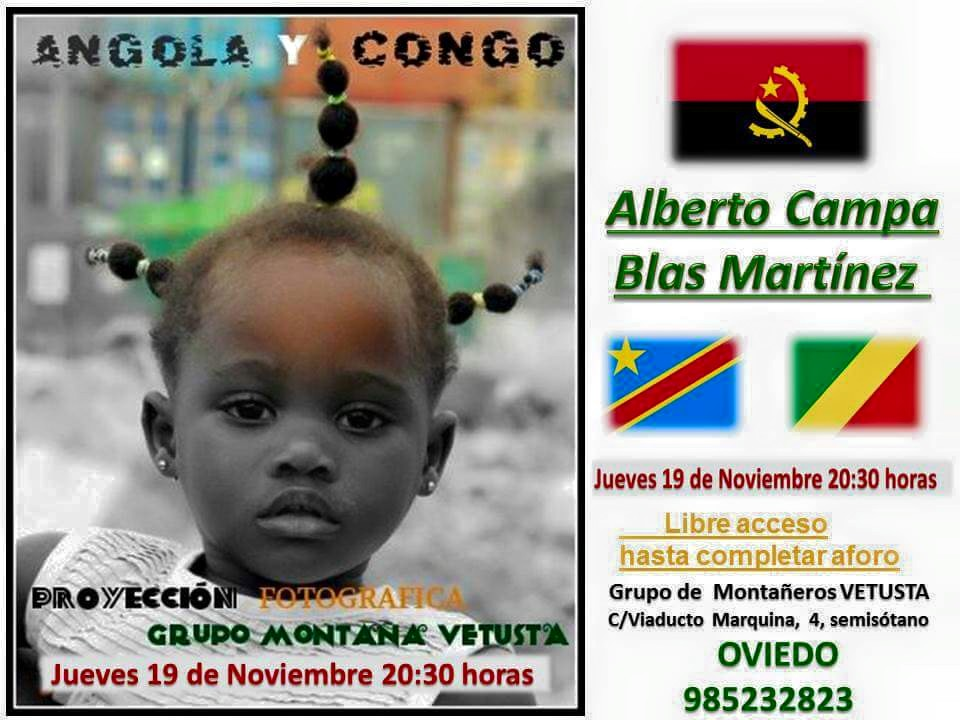 """PROYECCION """"ANGOLA Y CONGO"""""""