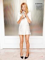 Gwyneth Paltrow  wearing a short white dress