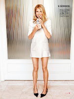 Gwyneth Paltrow  wearing a short white dress
