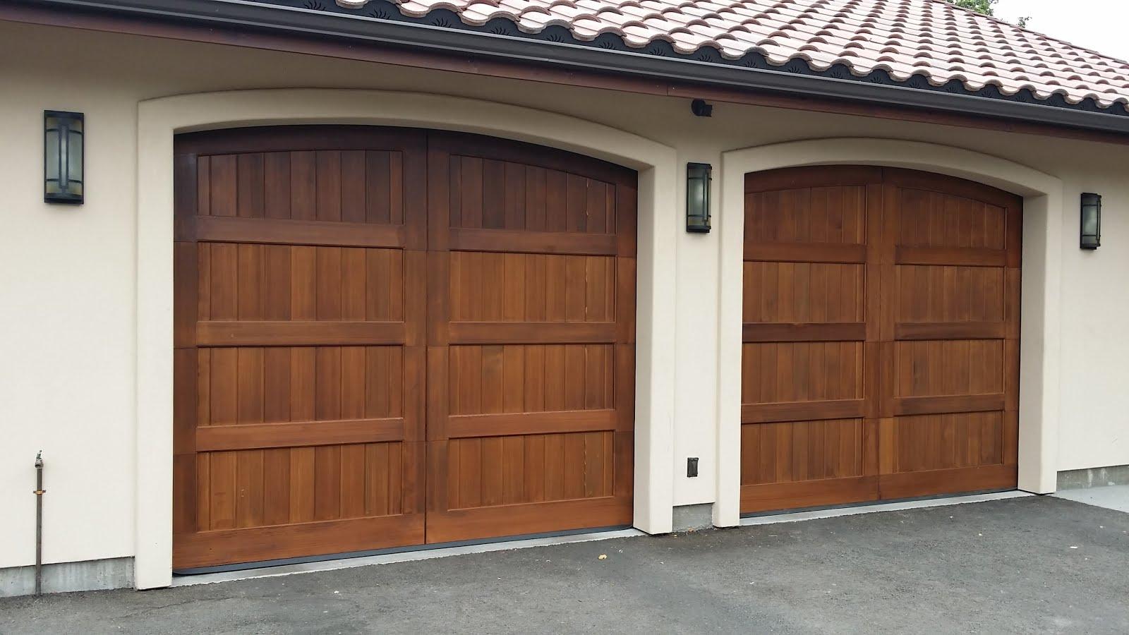 North Bay Carriage House Garage Door Installation