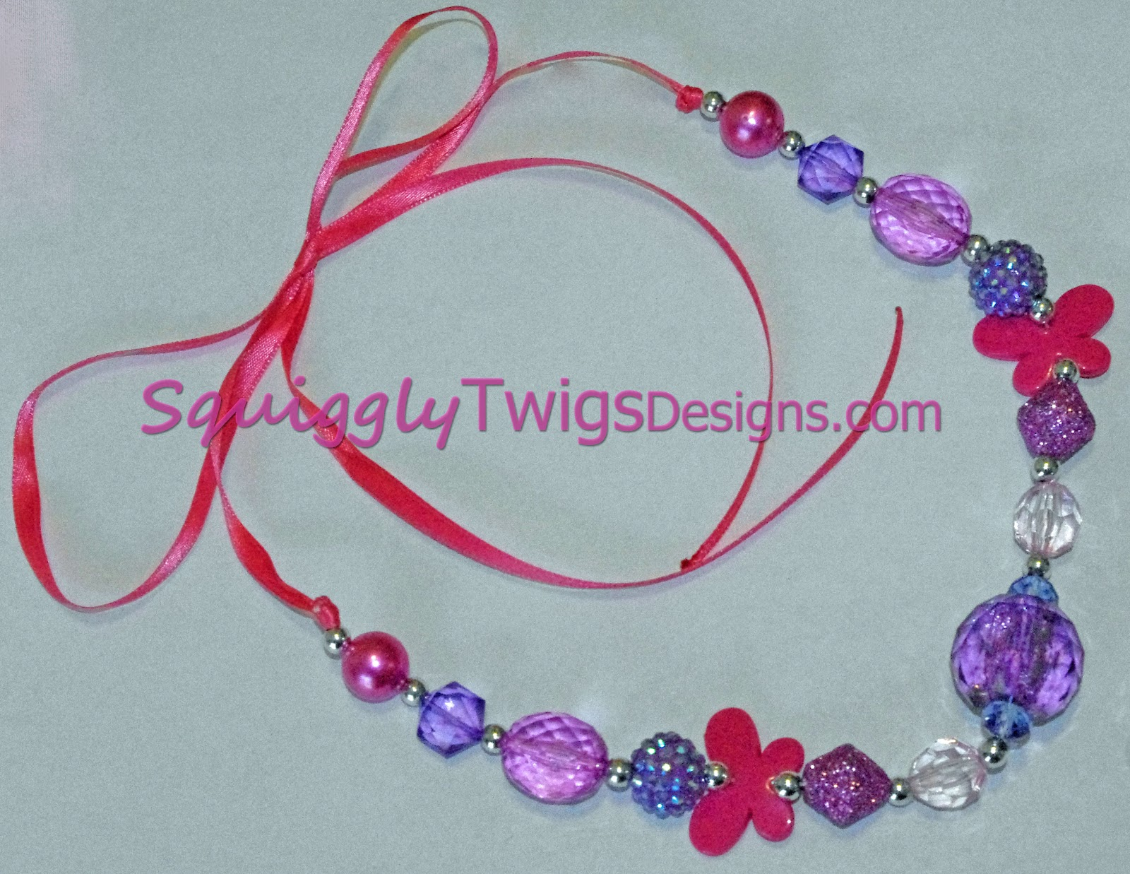 SquigglyTwigs Designs Tuesdays Tute A Chunky Necklace