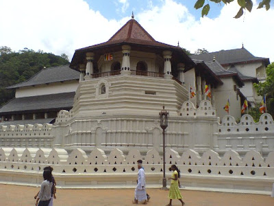Sacred Tooth Temple or Temple of the Tooth Srilanka