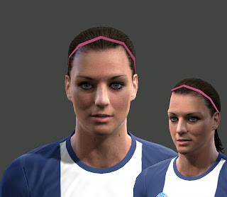 Laure Boulleau (Women's football) Face by Tunizizou
