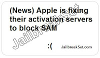 Apple is fixing their activation servers to block SAM